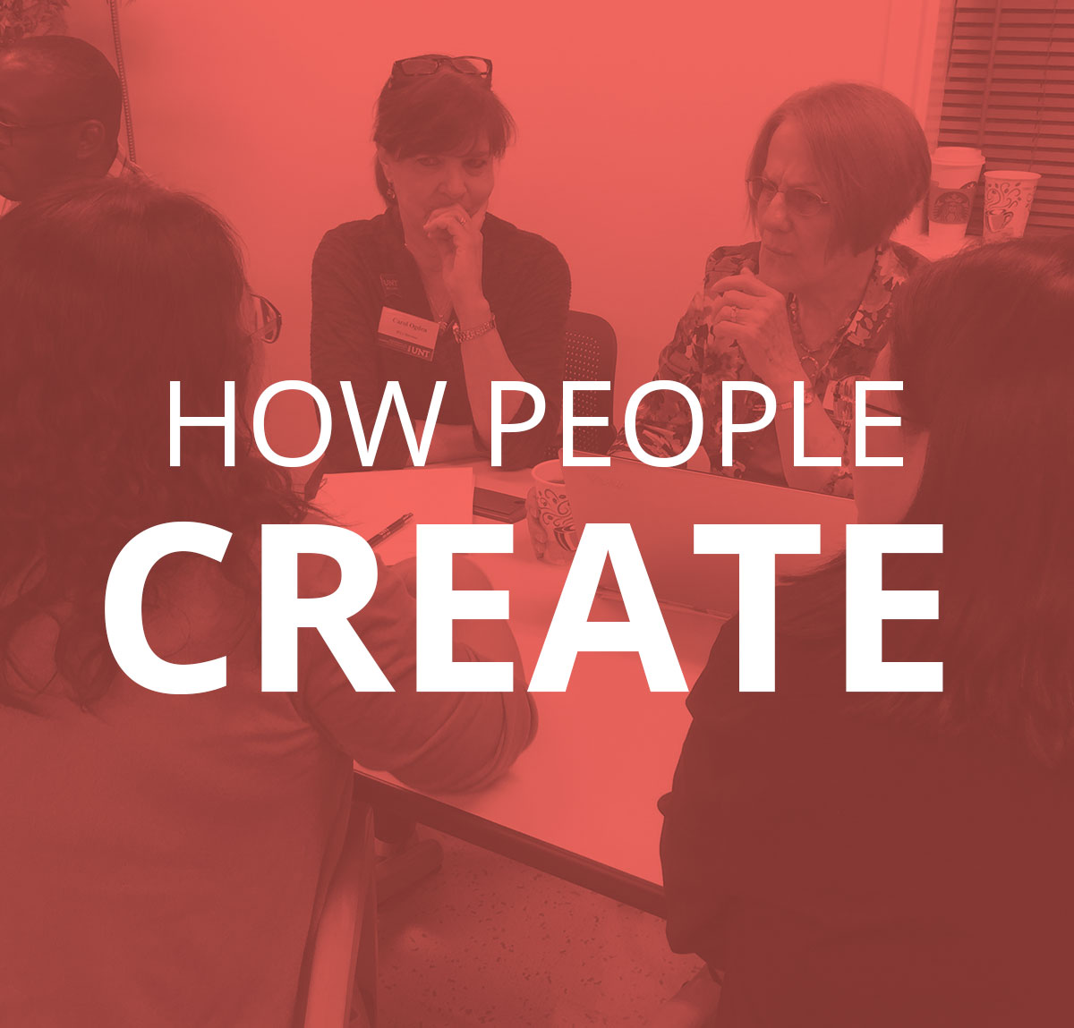 How People Create