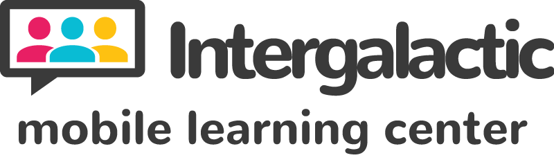 Intergalactic Mobile Learning Center Logo